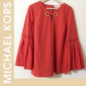 Michael Kors Bell sleeve top